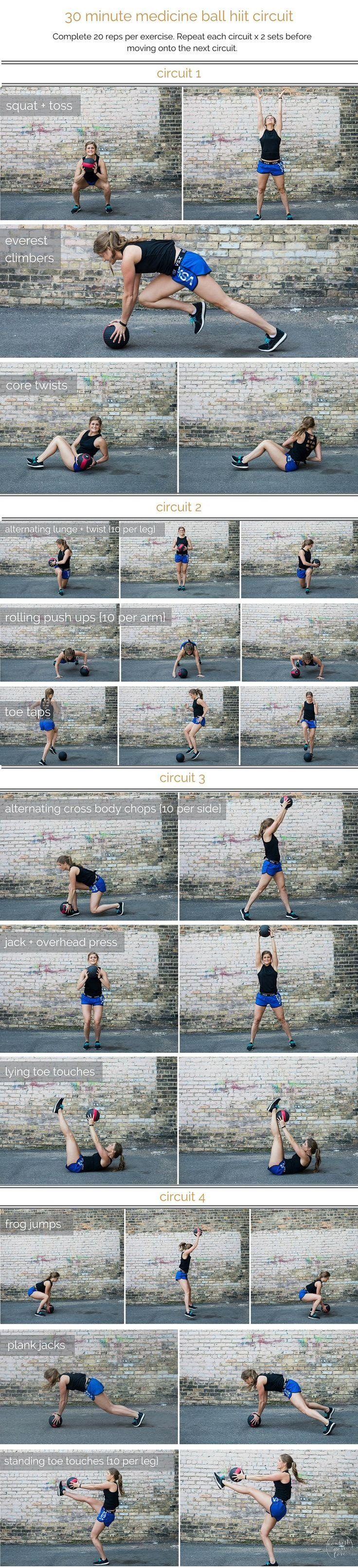 Wedding - Medicine Ball Hiit Circuit Workout