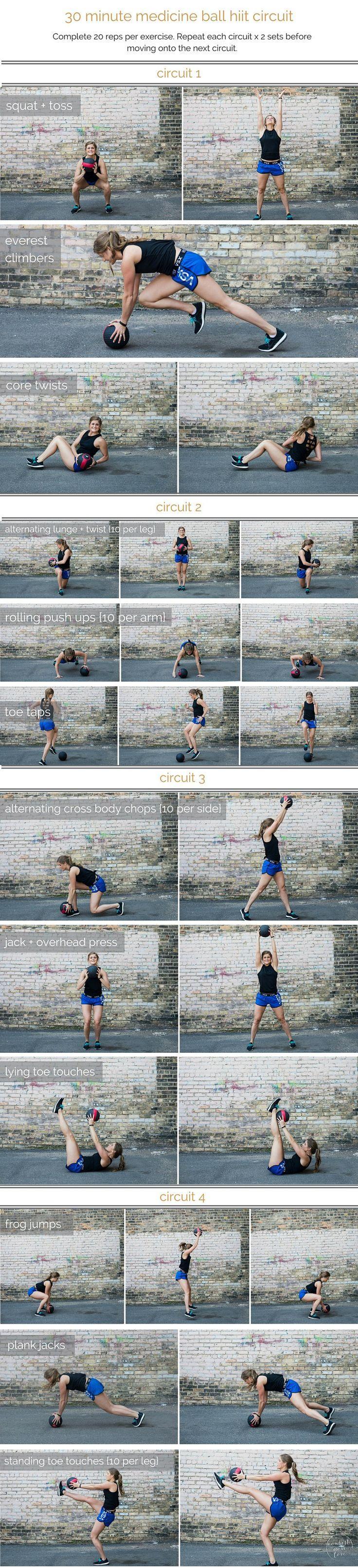 Wedding - Medicine Ball Hiit Circuit Workout
