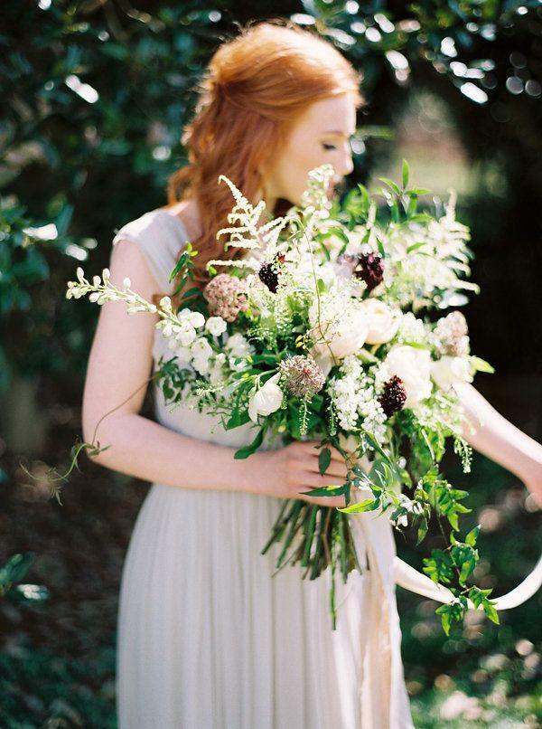Wedding - Elegant And Organic Bridal Inspiration