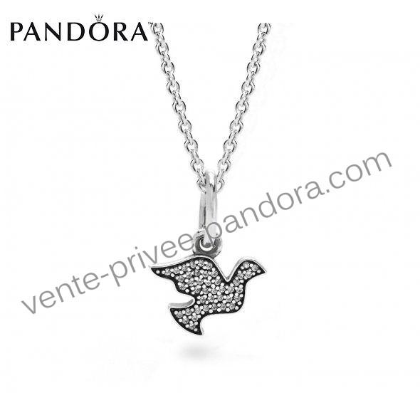Achetez Collier Pandora Prix Pas Cher Ailes De La Liberté P0946 ...