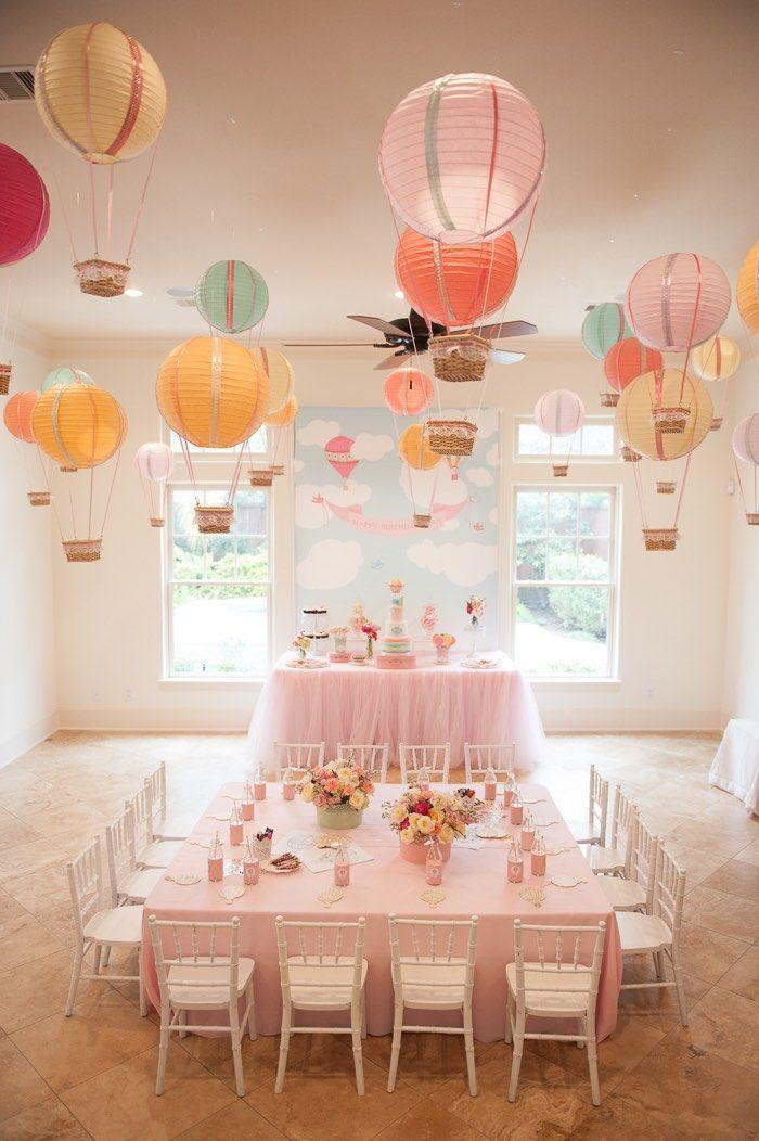 Wedding - Carried Away Hot Air Balloon Birthday Party