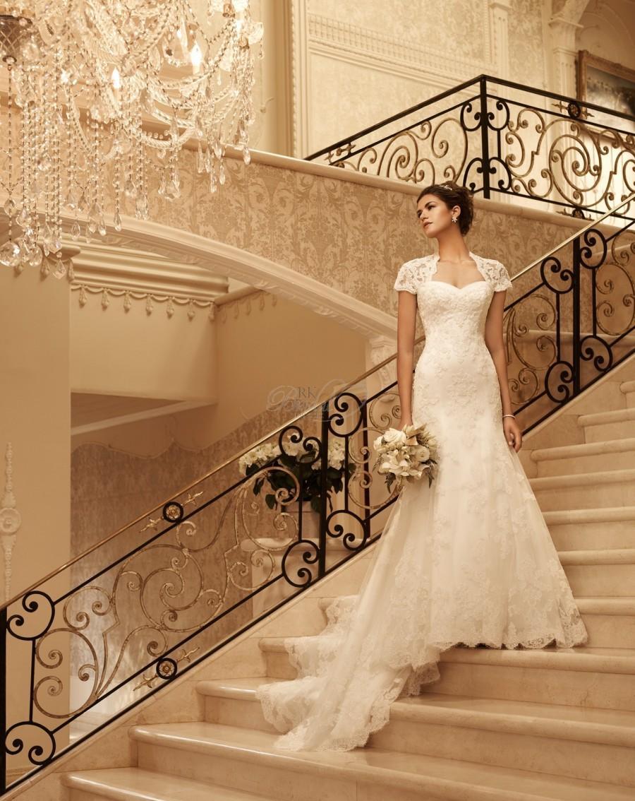 Wedding - Casablanca Bridal Spring 2013 - Style- 2102 - Elegant Wedding Dresses