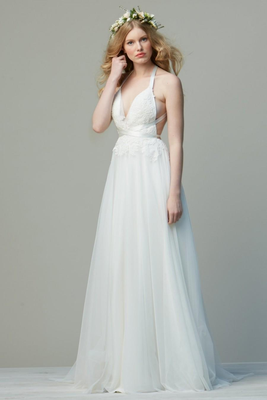 Wtoo did by watters wedding dress 52641 nora crazy sale for Wedding dresses sale online