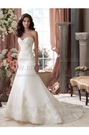Mariage - David Tutera For Mon Cheri 114279-Isidore Wedding Dress - David Tutera For Mon Cheri - Wedding Brands