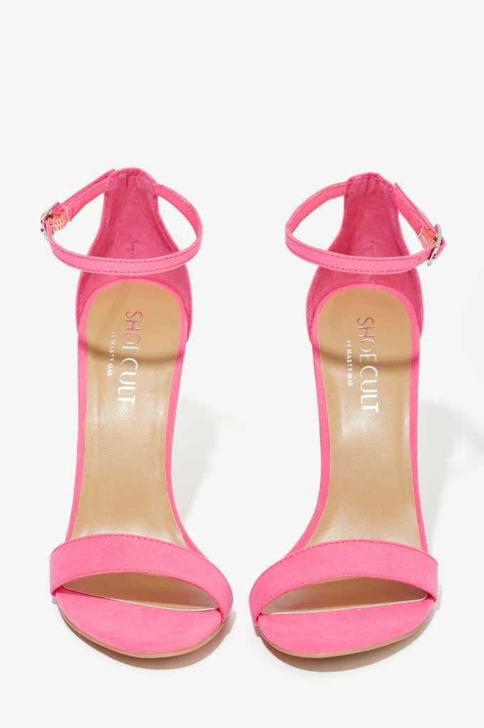 Свадьба - Nasty Gal Adore Heel - Pink