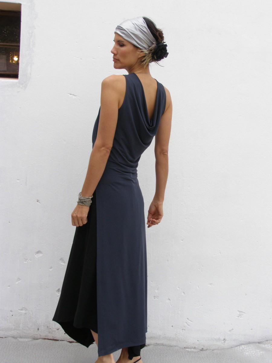 Grey Evening Elegant Dress Maxi The Majestic Arabian Night Wedding Bridesmaid Prom