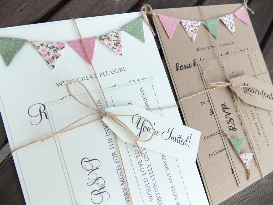 7 Wedding Invitations Made With Unique Materials