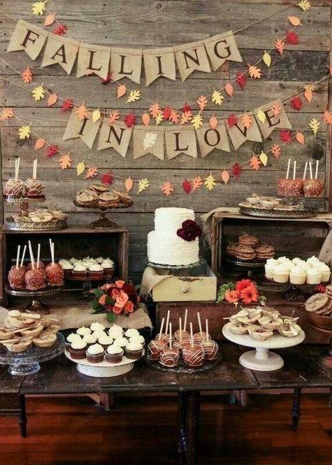 زفاف - 75 Rustic Fall Wedding Ideas You'll Love