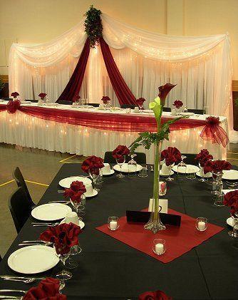 Düğün - Unique Red Wedding Flower Centerpieces - The Wedding Specialists