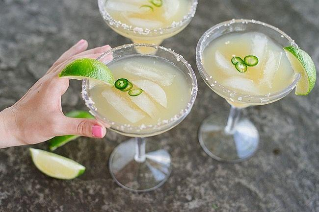 Wedding - Spicy Key Lime Margarita