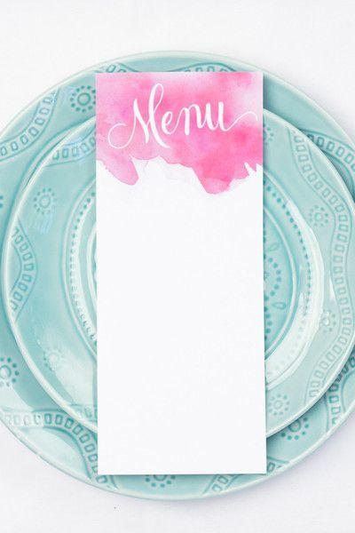 Wedding - Free Printables