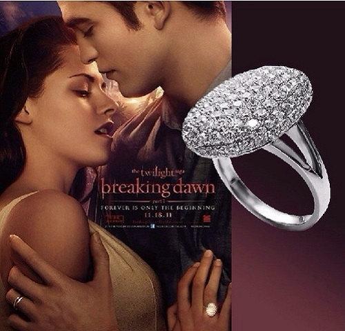 Mariage - Twilight Platinum Saga Bella Ring 9,10