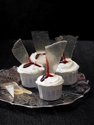 "Mariage - ""Broken Glass"" Cupcakes"
