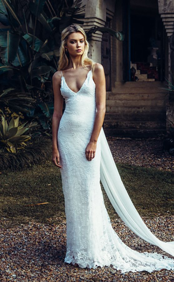 Our Top 4 Boho Wedding Dress Picks From Maggie Sottero Green