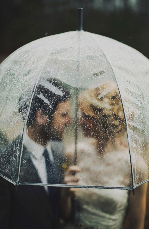 Wedding - Rainy Wedding Photo - ARIEL RENAE PHOTOGRAPHY
