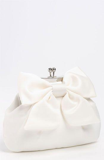 Boda - Satin Bow Clutch