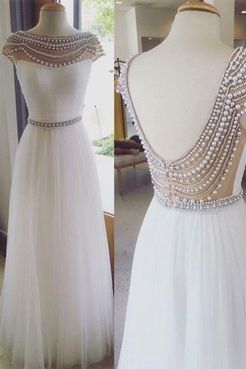 Mariage - Charming O-Neck Dress