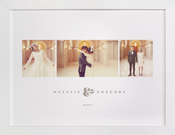Wedding - White Wood Frame