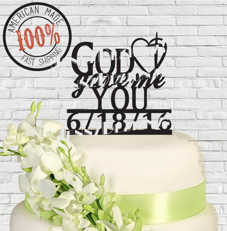 Contemporary Heart Shaped Wedding Cake Toppers Composition - The ...