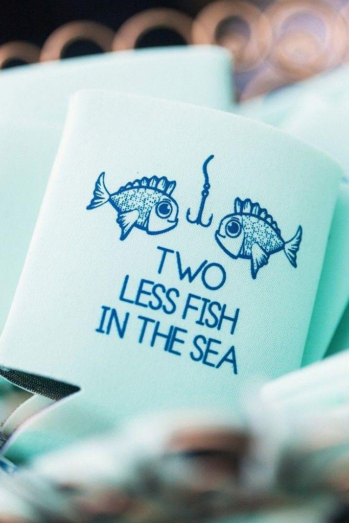 e6168f95b44d31 Cute Fish Koozie Beach Wedding Favor Ideas  2576775 - Weddbook