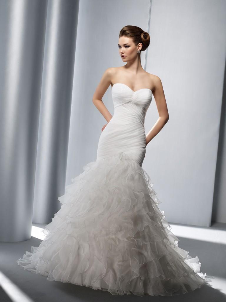 Mariage - Elianna Moore El1104 Bridal Gown (2012) (EM12_El1104BG) - Crazy Sale Formal Dresses