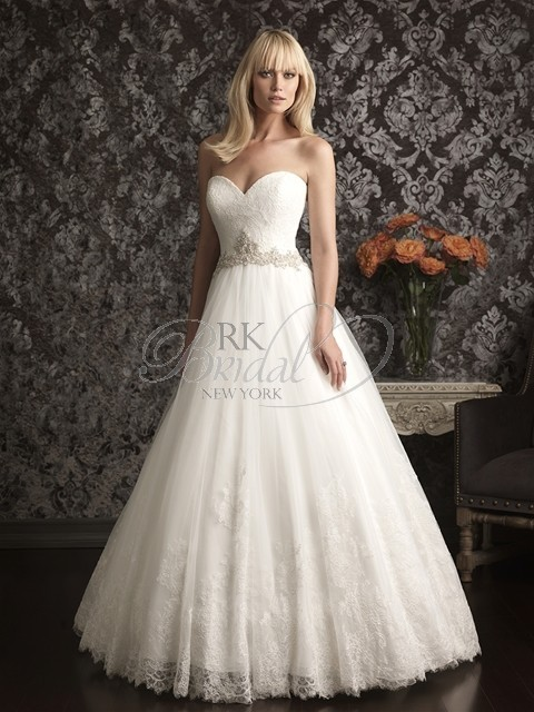 Mariage - Allure Bridal Spring 2013 - Style 9014 - Elegant Wedding Dresses