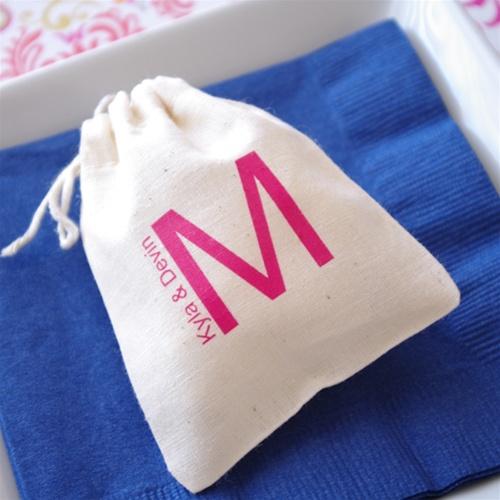 Mariage - Promotional Muslin Bag