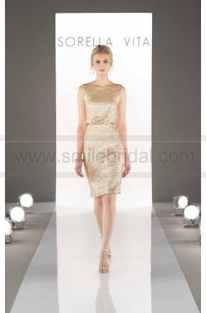 Wedding - Sorella Vita Sequin Bridesmaid Dress Style 8823 - Bridesmaid Dresses 2016 - Bridesmaid Dresses