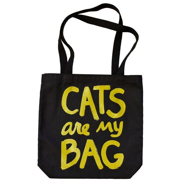 Свадьба - Black Shopping Bag/ Tote Bag/ Promotional Bag