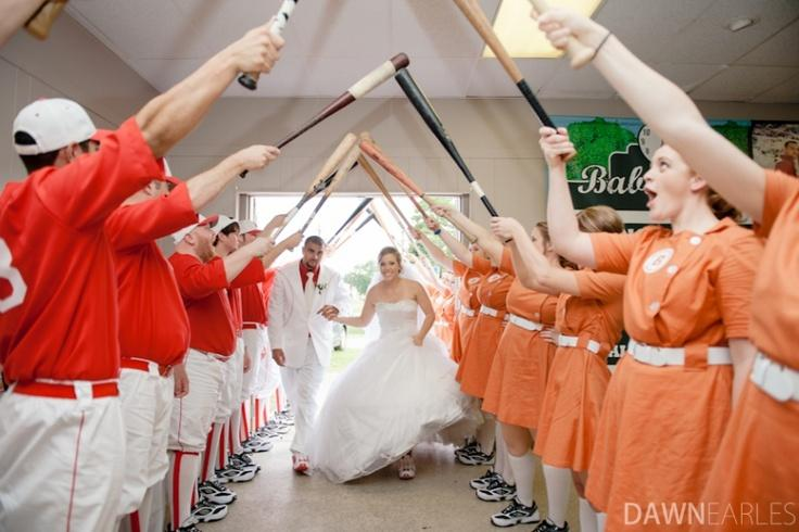 Wedding Ideas Baseball Theme