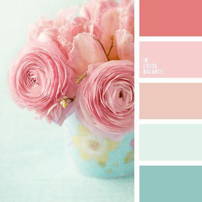 Свадьба - Цветовая Палитра №1459