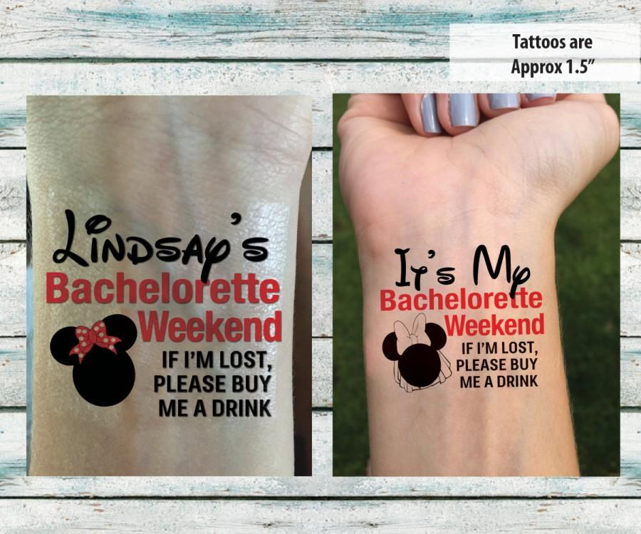 Bachelorette party temporary tattoos bachelorette weekend for Bachelorette party tattoos