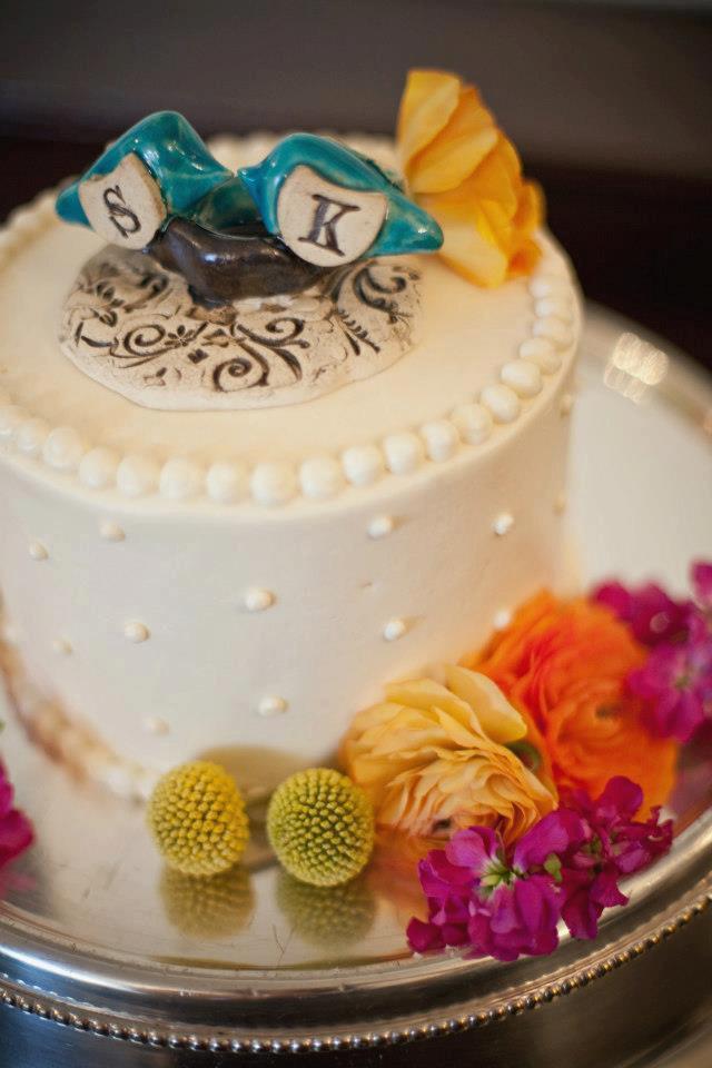 Mariage - Custom wedding cake topper