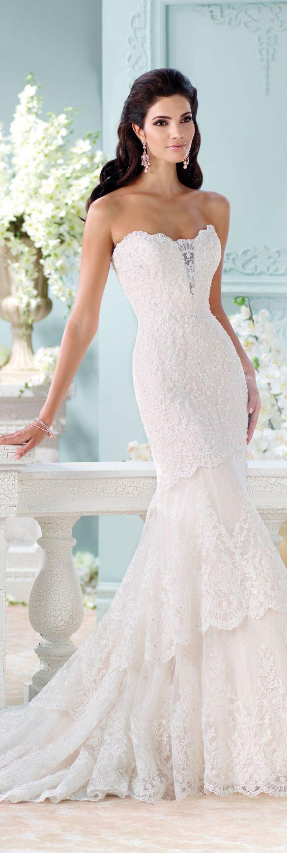 Mariage - Fit And Flare Wedding Dress