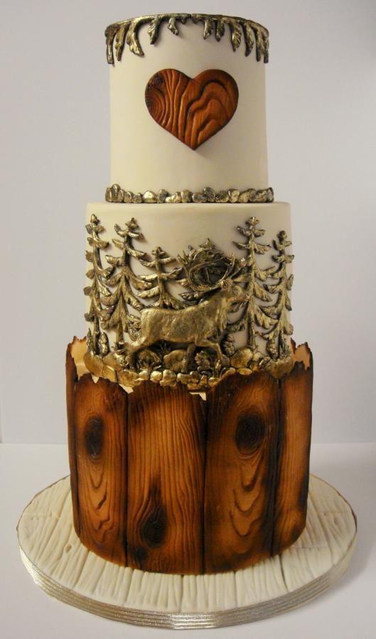 Wedding theme rustic wedding cake 2577306 weddbook rustic wedding cake junglespirit Images