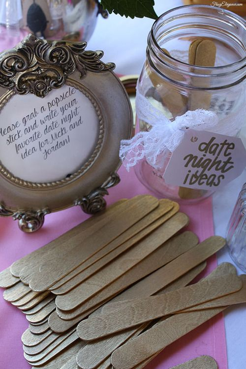 diy bridal shower decor