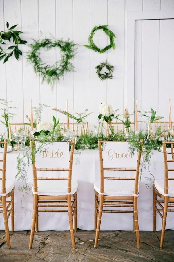 Mariage - Green And White Organic Wedding Inspiration