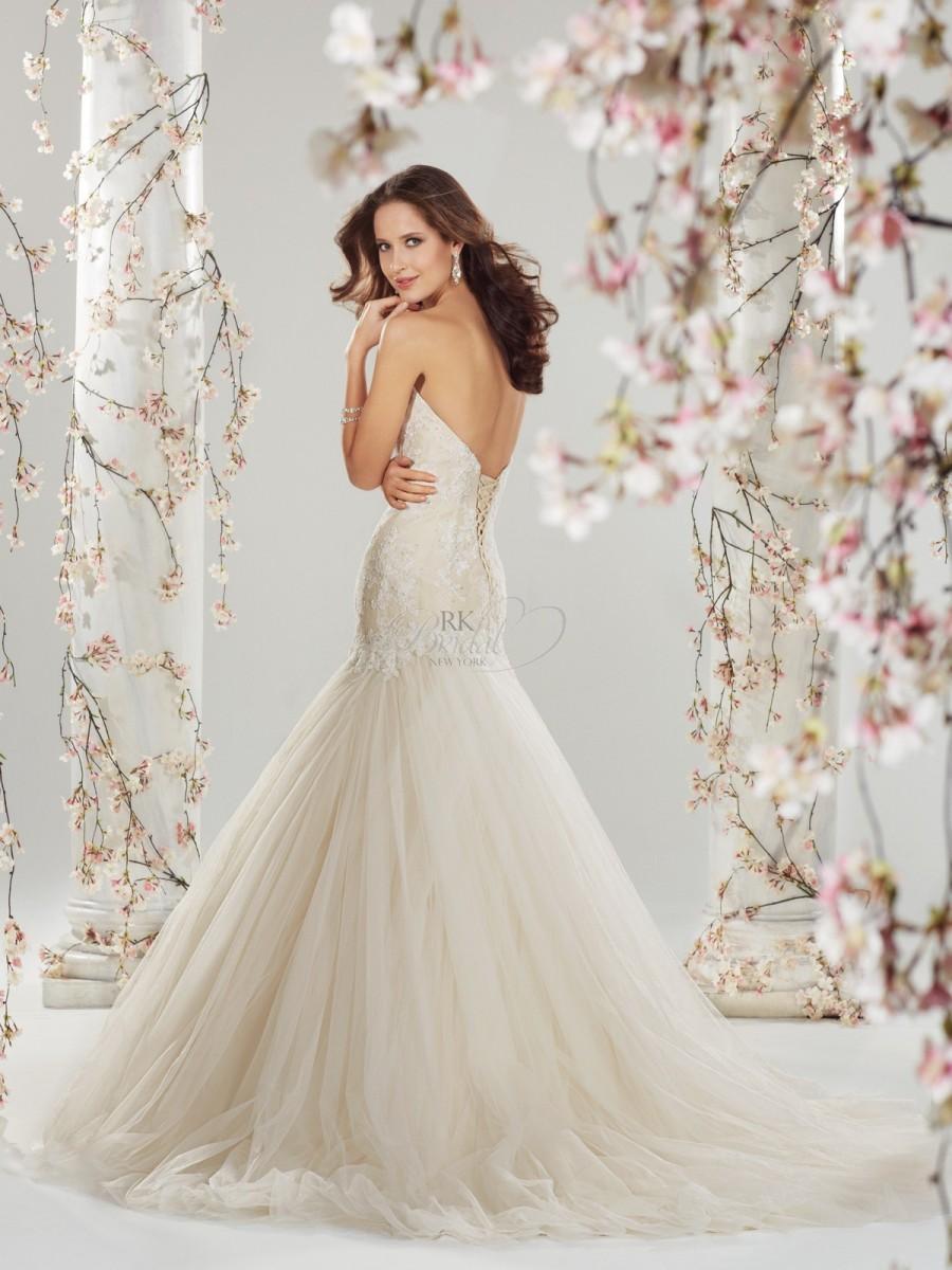 Свадьба - Sophia Tolli Bridal Spring 2014 - Y11420 Ros - Elegant Wedding Dresses