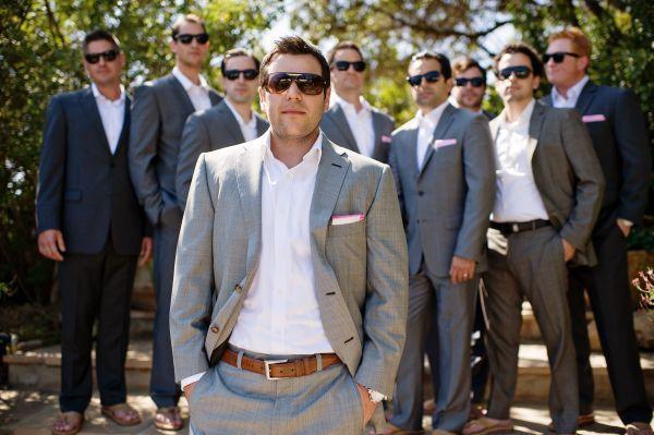 Свадьба - Classic Black And White Malibu Wedding
