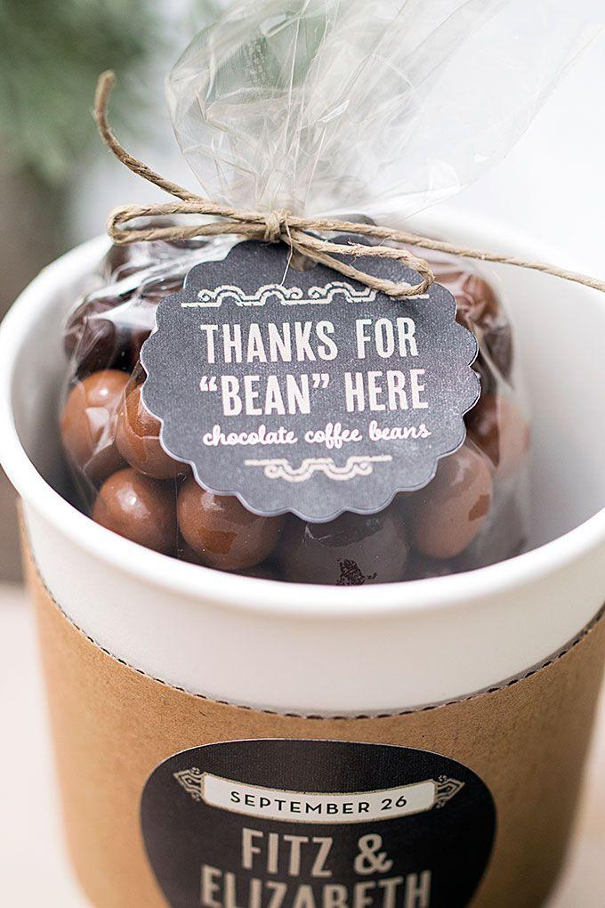 Mariage - Wedding Favor Friday: Chocolate-Covered Coffee Beans
