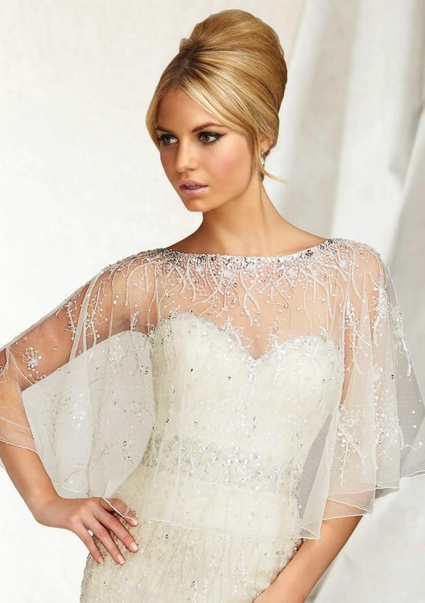 Wedding - Mori Lee Voyage Wedding Jackets - Style 11013 - Formal Day Dresses