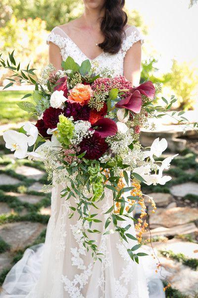 Wedding - Fall Mansion Wedding In Texas