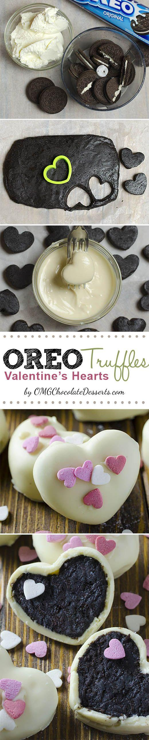 Wedding - Oreo Truffles Valentine's Hearts