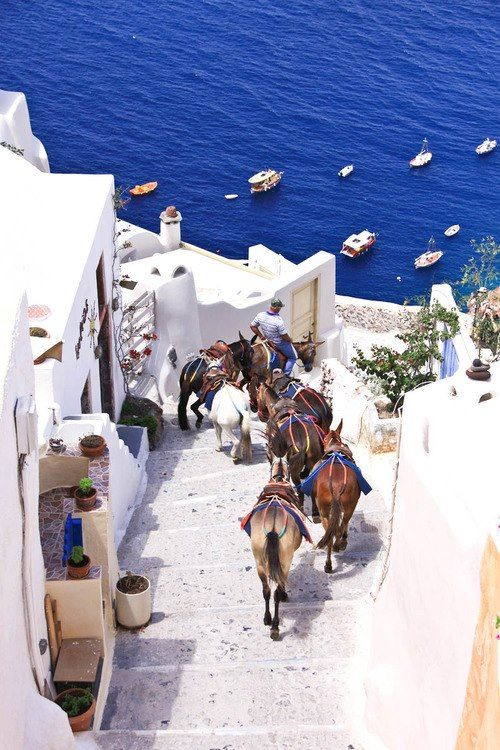 Hochzeit - The Most Stunning Pictures Of Santorini, Greece