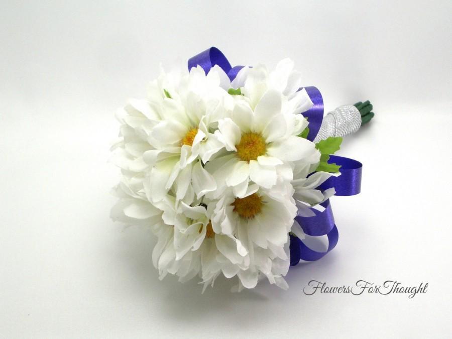 Daisy Bridesmaid Bouquet Wedding Flowers White Shasta Daisies