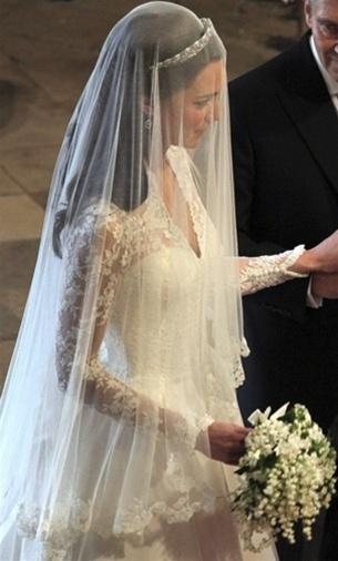 Mariage - Kate Middleton In Royal Wedding 2