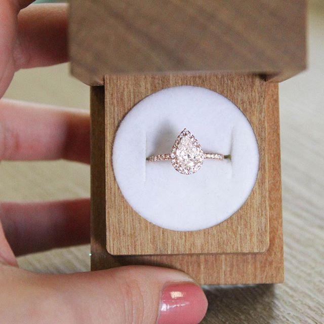 Свадьба - 14K Rose Gold Waverly Diamond Ring (1/2 Ct. Tw.)