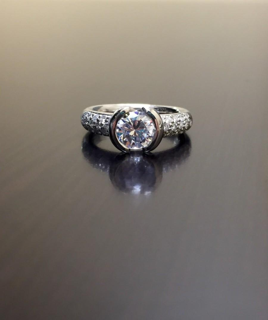 chic rings engagement and wedding the green sustainable diamond full photos this ring bride perfect for round modern is ideas