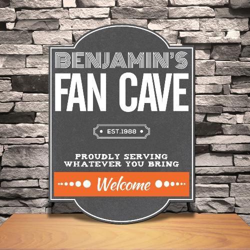 Свадьба - Personalized Fan Cave Tavern Sign