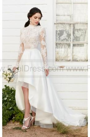 Mariage - Martina Liana Illusion Lace High-Low Skirt Wedding Separates Style Jude   Sia